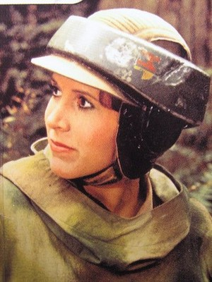 Leia in SW:Return of the Jedi