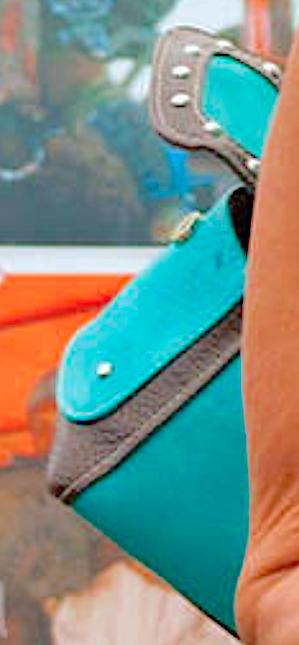 Linda's Blue 지갑