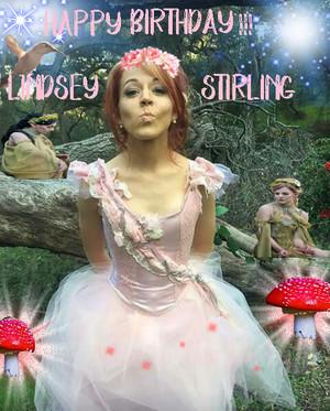 Lindsey Stirling birthday card