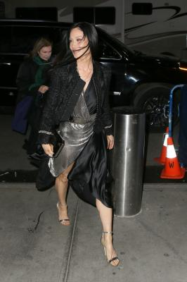 Lucy Liu In NYC