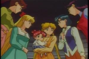 Makoto Minako Usagi Chibiusa Ami and Rei