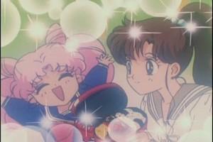 Makoto and Rini