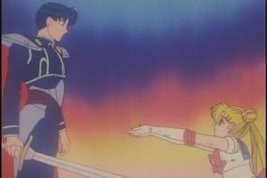 Mamoru And Sailor Moon