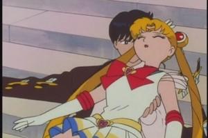 Mamoru And Sailor mon