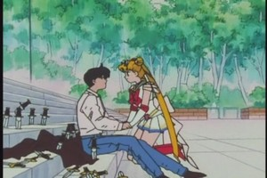 Mamoru And Sailor moon