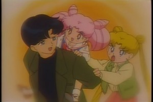 Mamoru Chibiusa and Usagi