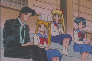 Mamoru Usagi Ami and Minako