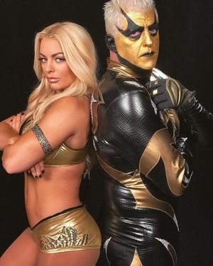 Mandy and Goldust