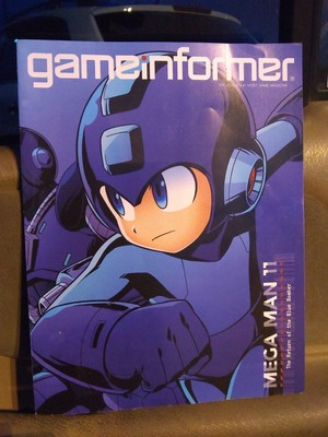 Mega Man Game Informer Magazine