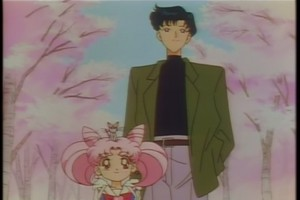 Memoru and Chibiusa
