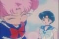 Mercury and Rini  - sailor-moon photo