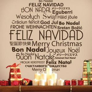 Merry navidad In Different Languages
