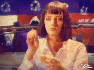 Mia Wallace door Adam Darr