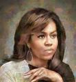 Michelle Obama  - michelle-obama fan art
