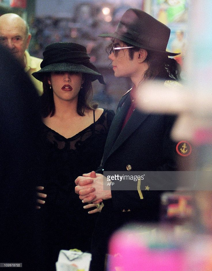 Michael And Lisa Marie Presley