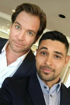 Michael Weatherly and Wilmer Valderrama