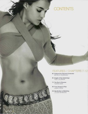Michelle Rodriguez - Chin Magazine Photoshoot - 2005