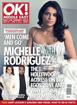 Michelle Rodriguez - OK! Middle East Cover - 2012