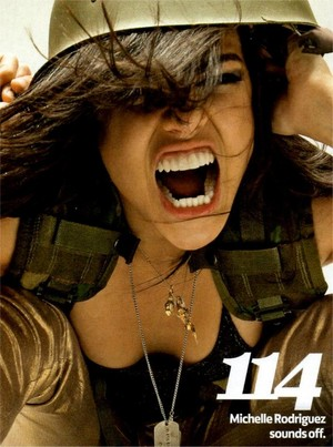 Michelle Rodriguez - Total Flim Photoshoot - 2011