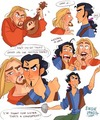 Miguel and Tulio Fan Art - the-road-to-el-dorado fan art