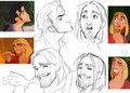 Miguel and Tulio Sketches  - the-road-to-el-dorado photo