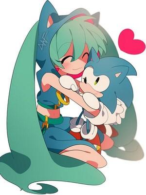 Miku x Sonic