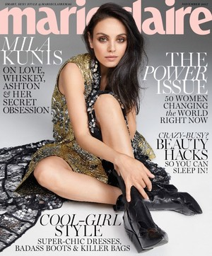 Mila Kunis for Marie Claire [November 2017]