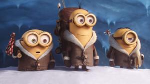 Minions Winter Обои