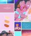 Mood Board - Jasmine and Aladdin - disney-princess photo