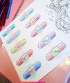 Motivational bandaids - english-language photo