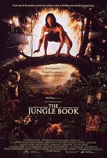 Movie Poster For 1994 disney Film, Jungle Book