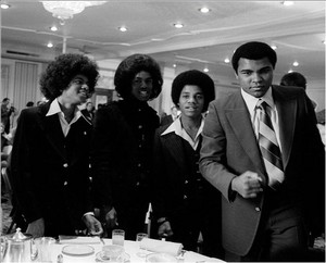Muhammad Ali And The Jacksons