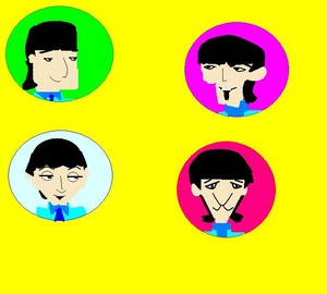 My Cartoon Beatles.JPG