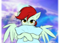 My pegasus oc Vicki - my-little-pony-friendship-is-magic photo