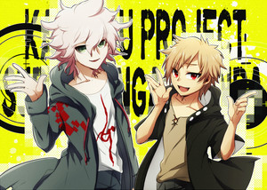 Nagito Komaeda and Kano Shuuya | Danganronpa and Kagerou Days
