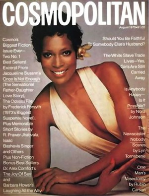 Naomi Sims On The Cover Of Cosmopolitan