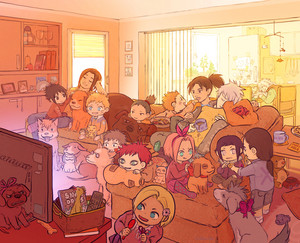 naruto characters as kids ~ naruto