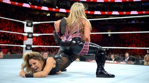 Natalya Sharpshooter Trish Stratus