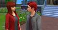 Nathaniel and Lila in Sims 4 - tomatofox photo