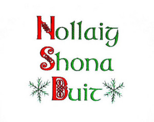 Nollaíg Shona! (Merry Christmas!)