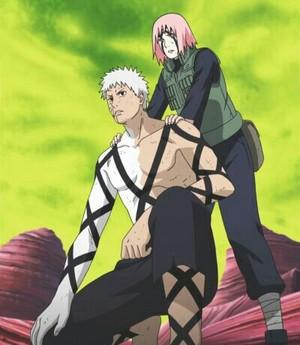 Obito and Sakura