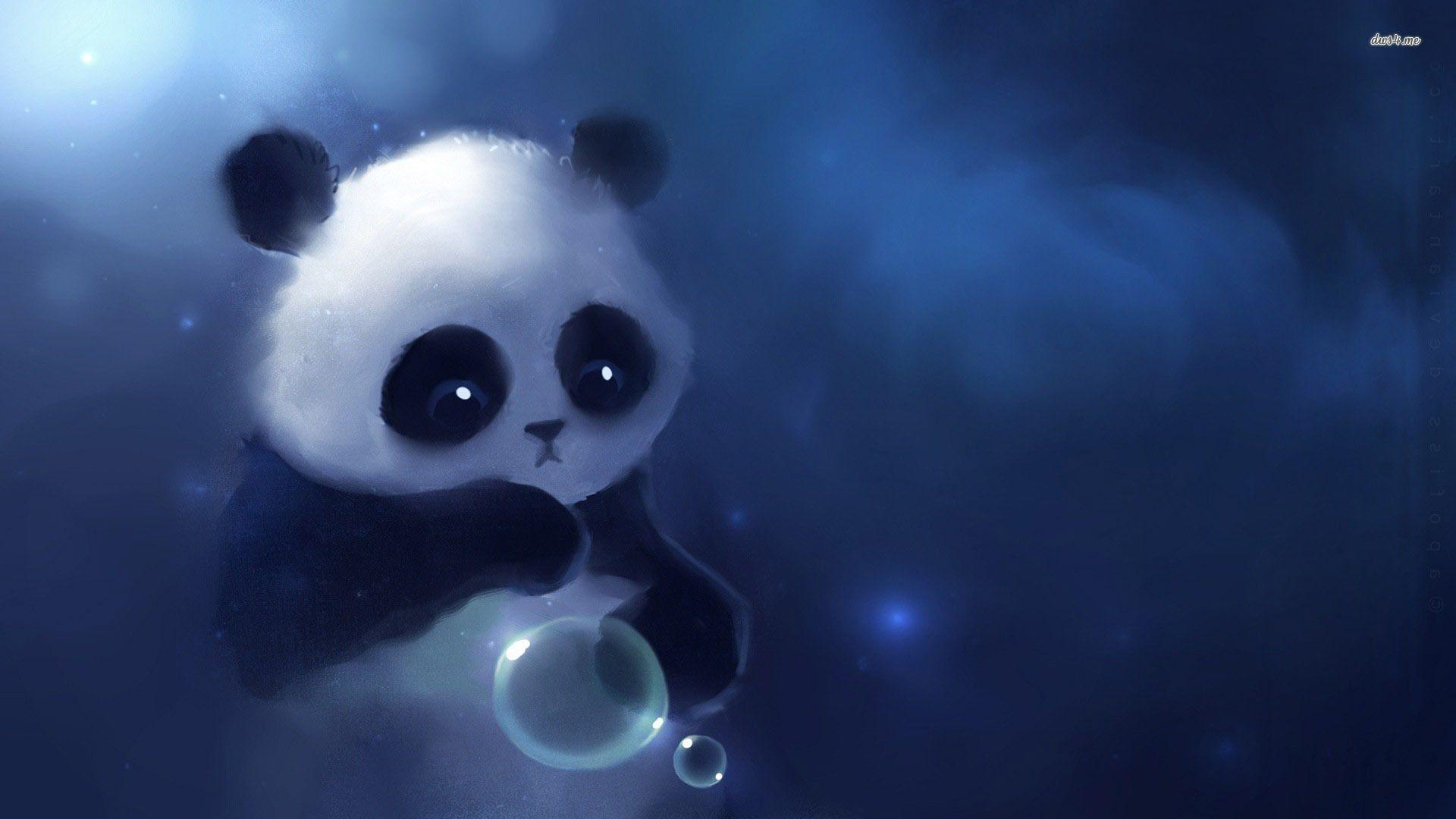 Panda and Bubble