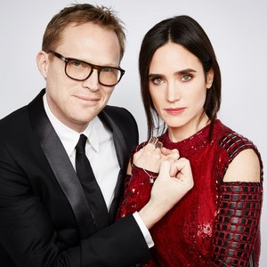 Paul Bettany and Jennifer Connelly [Louis Vuitton for UNICEF Portraits]