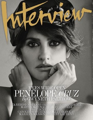 Penélope Cruz for Interview Magazine [October 2017]