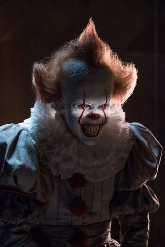 films d'horreur fond d'écran called Pennywise from IT (2017)