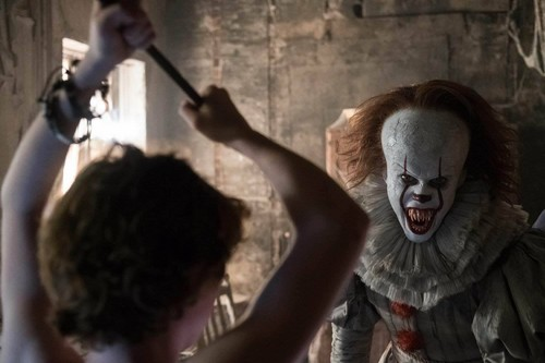 Wallpaper It Clown Bill Skarsgard Horror 2017 Hd: Horror Movies Images Pennywise From IT (2017) HD Wallpaper