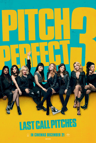 Pitch Perfect achtergrond entitled Pitch Perfect 3 Poster