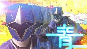 Preston Morphed As The Blue Ninja Steel Ranger