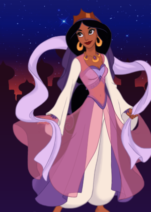 Princess Jasmine: New Outfit 1