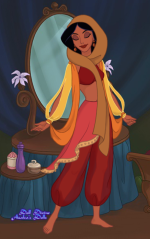 Princess Jasmine: New Outfit 3